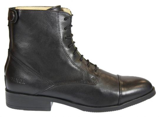 BOOTS LACETS ADULTE SOFTY NOIRE GANGA