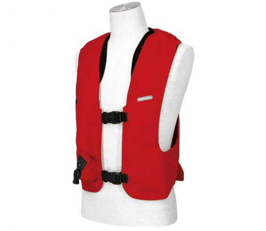 GILET AIRBAG COMPLET ROUGE HIT AIR