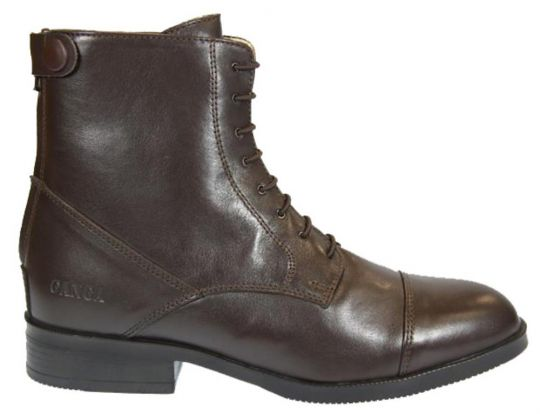 BOOTS LACETS ADULTE SOFTY CAFE GANGA