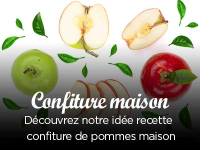 Recette confiture de pommes maison