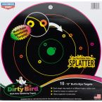 CIBLES DIRTY BIRD MULTICOLORES 20CM