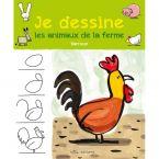 LIVRE FACILE DE DESSINER ANIMAUX DE LA FERME