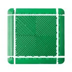 DALLES MULTI-USAGE VERTE 40X40CM X6