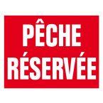PANNEAU PECHE RESERVEE POLYPRO