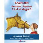 LIVRE Q/R CAVALIER 1 A 4 DEGRE 1