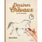 LIVRE DESSINER DES CHEVAUX EN 15MIN