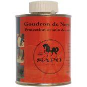 POT + PINCEAU GOUDRON DE NORVEGE