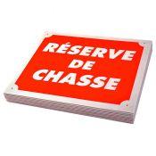 PLAQUE AKILUX RESERVE DE CHASSE X10