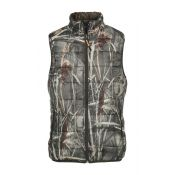 GILET WARM REV GHOSTCAMO WET