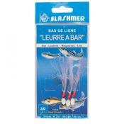BAS DE LIGNE LEURRE A BAR/LANGUETTE