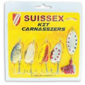 KIT 5 CUILLERS SUISSEX CARNASSIERS