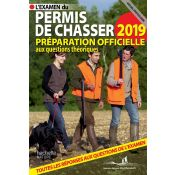 LIVRE PERMIS DE CHASSER 2019