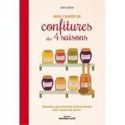 LIVRE CAHIER CONFITURES DES 4 SAISONS