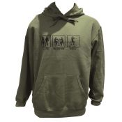 SWEAT CAPUCHE GOOD BEST CHASSE VERT
