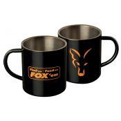 MUG FOX EN ACIER INOXYDABLE