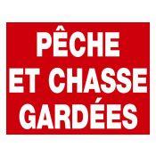 PANNEAU PECHE CHASSE GARDEE AKILUX