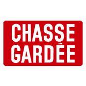 PANNEAU CHASSE GARDEE