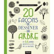 LIVRE 20 FACONS DESSINER UN ARBRE