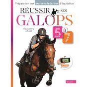LIVRE REUSSIR GALOPS 5 A 7 COURS