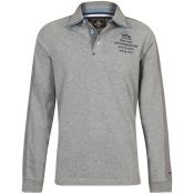 POLO HOMME GLENDALL GRIS CHINE
