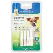 PIPETTES REPULSIVES PETIT CHIEN X4