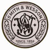 PLAQUE SMITH ET WESSON RONDE