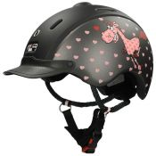 CASQUE JUNIOR COMIC NOIR