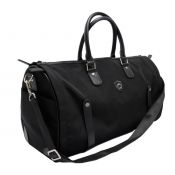 SAC DE TRANSPORT WEEKEND CUIR NOIR