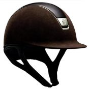 CASQUE PREMIUM CHOCO CUIR CHROME GO