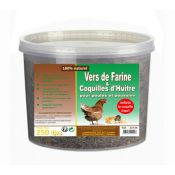 VERS FARINE/COQUILLES HUITRES 250G
