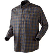 CHEMISE MILFORD BROWN BLUE CHECK