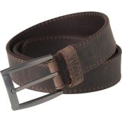 CEINTURE CUIR ARVAK DEEP BROWN
