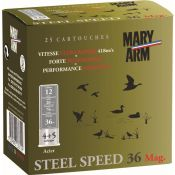 CARTOUCHES STEEL SPEED 12MAG 36G