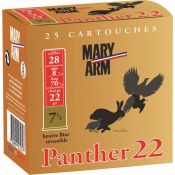 CARTOUCHES PANTHER 22 28/22G BR