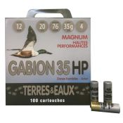 CARTOUCHES GABION 12/76 35G N4 X100