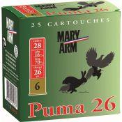 CARTOUCHES PUMA 26 28/26G