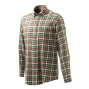 CHEMISE FLANNELLE GREEN ORANGE