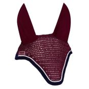 BONNET DIAMANT RIDER BORDEAUX CHEVAL
