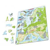 PUZZLE NATURE GEOGRAPHIQUE EUROPE