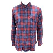 CHEMISE CARREAUX PACOME ROUGE