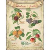PLAQUE FRUITS GARDEN (V)