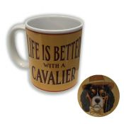 MUG CERAMIQUE KING CHARLES