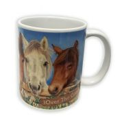 MUG CERAMIQUE HORSES FAMILY