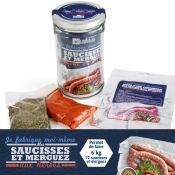 BOCAL 1L DIY SAUCISSES/MERGUEZ BIO