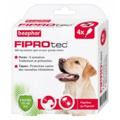 PIPETTES FIPROTEC GRAND CHIEN X4
