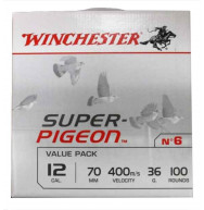 CARTOUCHES SUPER PIGEON 12/36G X100