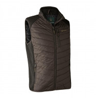 GILET MOOR PADDED MARRON