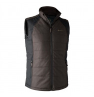 GILET MOSS PADDED MARRON