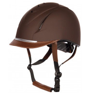 CASQUE CHALLENGE MARRON