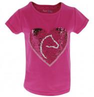 TEE-SHIRT PONY LOVE EQUI-KIDS ROSE